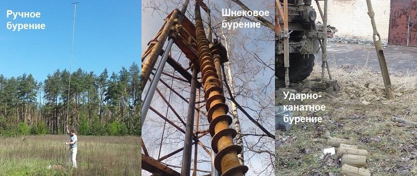 Виды бурения фото, геолог Киев - Магистральбудпроект